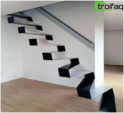band staircase