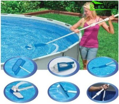 how to clean the pool