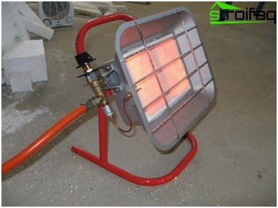 Gas heaters for the garage
