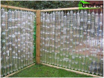 fence bottles