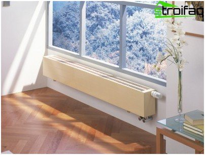 Water heating convector