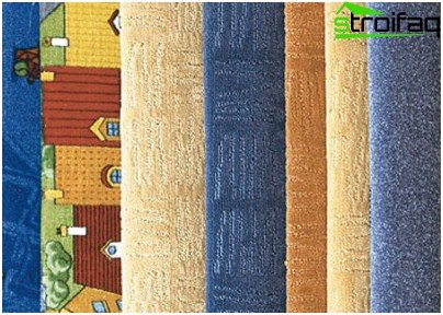Types of carpet