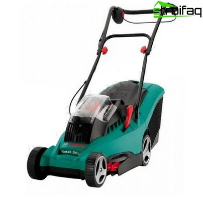 rechargeable mower
