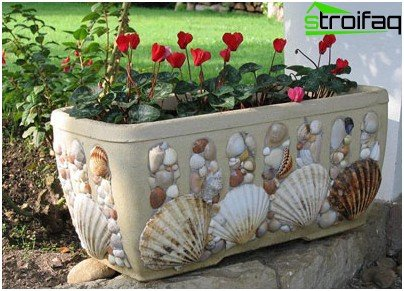 Decor flower bed