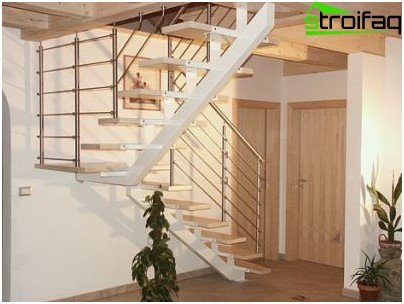 Finish modular metal stairs