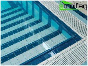 Piastrella per piscina una grande scelta per il rivestimento