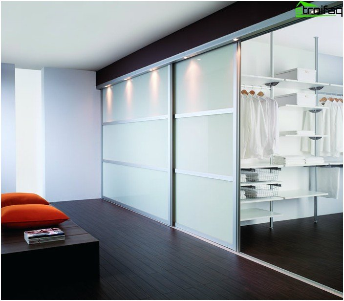 Glass sliding doors design