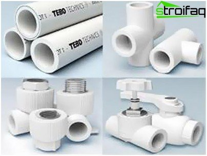 Polypropylene pipes and fittings