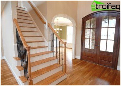 Type correctly installed handrails