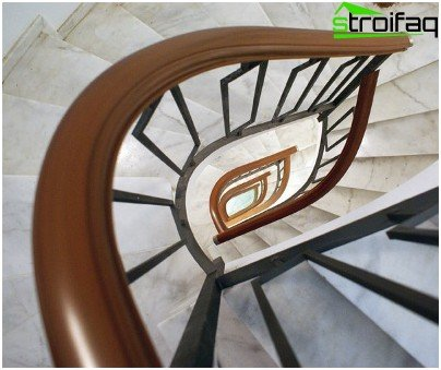 PVC railing can create true works of art