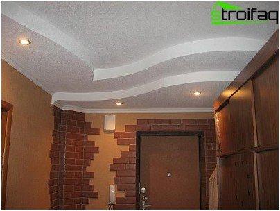 Soffitti di cartongesso in sala opzioni fotografiche for Cartongesso sala