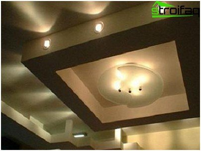 Multi-level design for the high ceiling