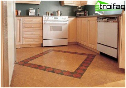 Durable wear new linoleum