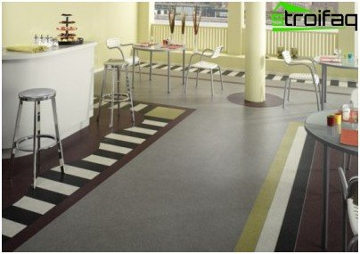 Linoleum semi-commercial category