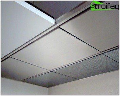 Repair ceiling