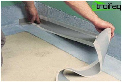 On abutment structural elements need to paste special tape