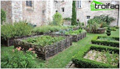 Il giardino in stile country la fauna selvatica sul vostro cottage
