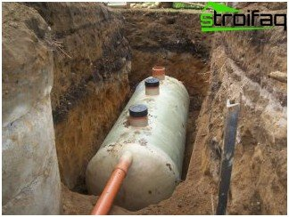 Metal septic tank