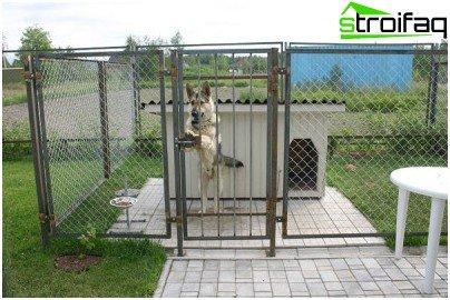 consigli handler come costruire un recinto per il cane con le