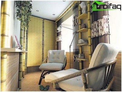 innglasset balkong gulv