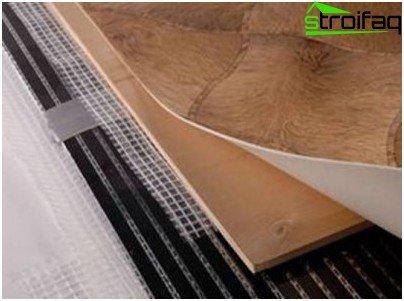 topli pod ispod linoleuma to odabrati kako ih staviti. Black Bedroom Furniture Sets. Home Design Ideas