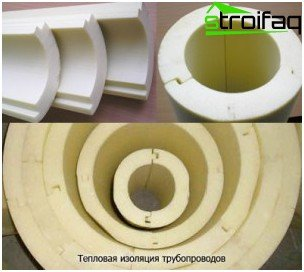 Insulation sewer pipes