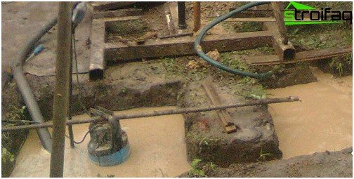 Sewage pump in action