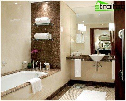Vonios kambarys nuotraukos
