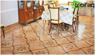 parquet floor module