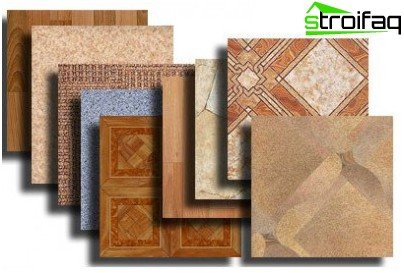 Synthetic linoleum PVC