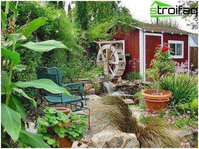 Skapa en mysig stuga trädgård och rustikt