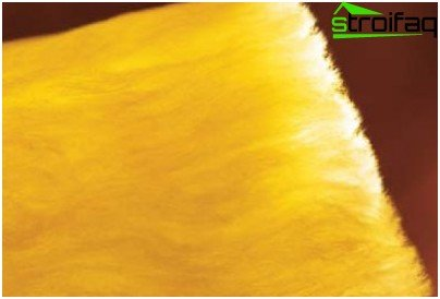 Structural building mineral wool