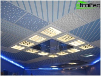 Suspended ceiling Grilyato