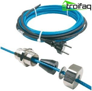 Heating cable for home use