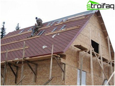 Noise metal roofing