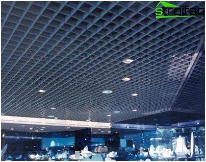 Porous ceiling