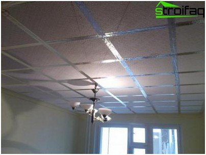 Soundproofing suspended ceilings