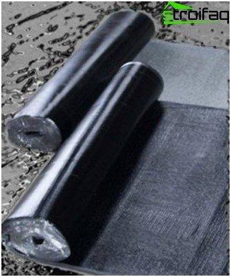 Bituminous materials for waterproofing