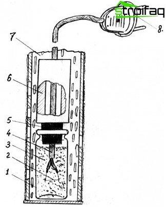Driving tassel hole short circuit