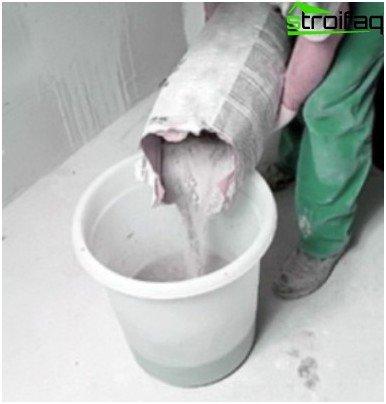 Waterproofing cement-based pool