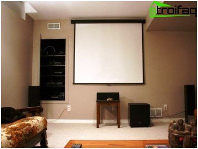 Connecting a home theater