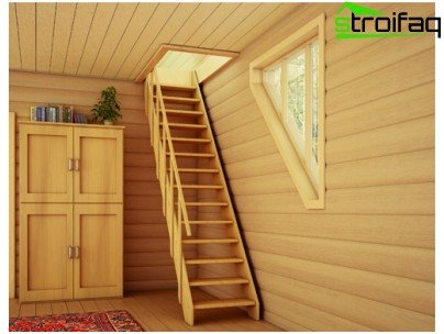 Wooden stairs never go out of fashion home decor
