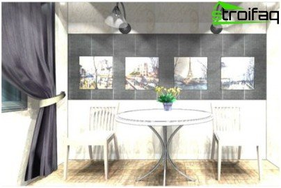 Create design - lighting project in the kitchen