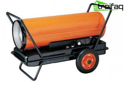 Heat gun diesel