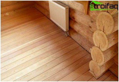 Wooden Flooring from solid