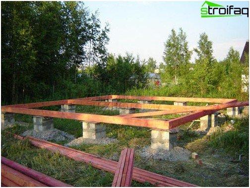 Musculoskeletal pier foundation