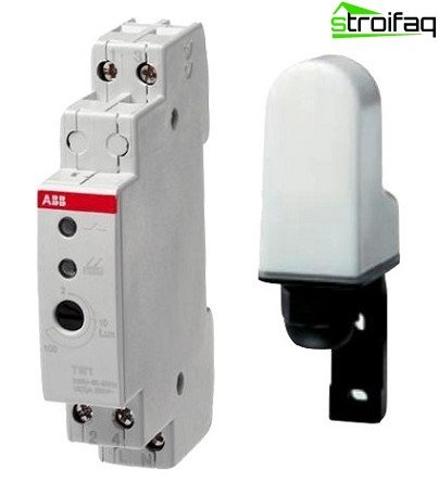 Photo- with external photocell