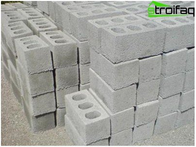 Cinder blocks have a porous structure