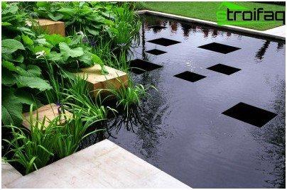Pond Art Nouveau
