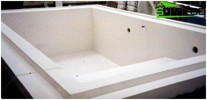 Waterproofing of pools